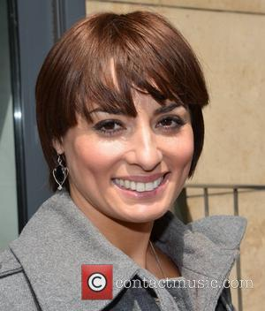Flavia Cacace from Strictly Come Dancing at Today FM studios Dublin, Ireland - 06.06.12.