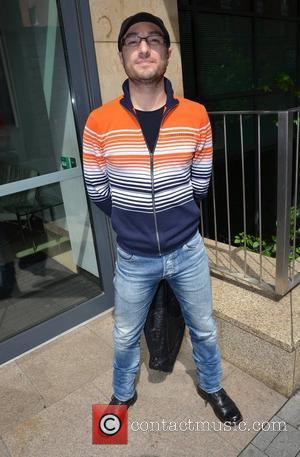 Vincent Simone from Strictly Come Dancing at Today FM studios Dublin, Ireland - 06.06.12.
