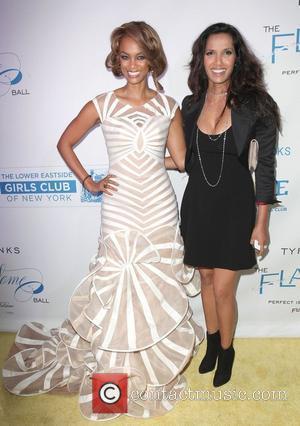 Tyra Banks and Padma Lakshmi
