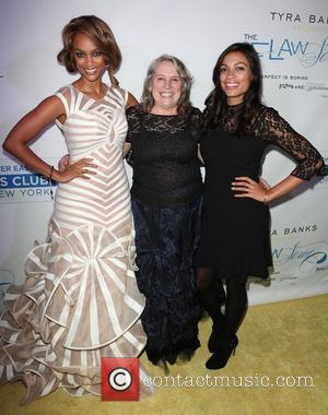 Tyra Banks, Lyn Pentecost and Rosario Dawson