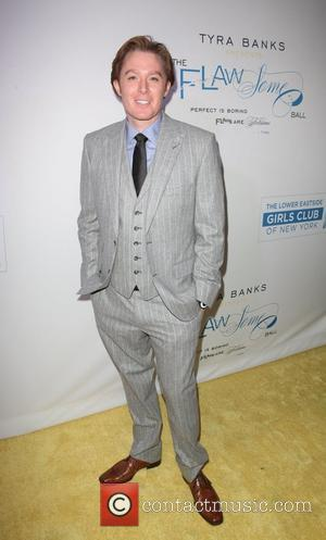 Clay Aiken at The Flawsome Ball For The Tyra Banks TZONE at Capitale. New York City, USA - 18.10.12