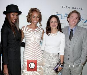 Damarias Lewis, Tyra Banks, Soledad O'brien and Clay Aiken
