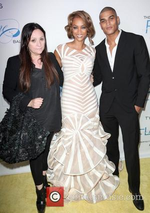 Kelly Cutrone, Tyra Banks and Rob Evans