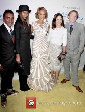 Marcus Samuelson, Damarias Lewis, Tyra Banks, Soledad O'brien and Clay Aiken