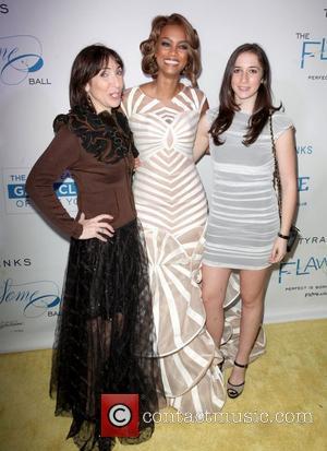 Nancy Josephson, Tyra Banks and Cora Josephson