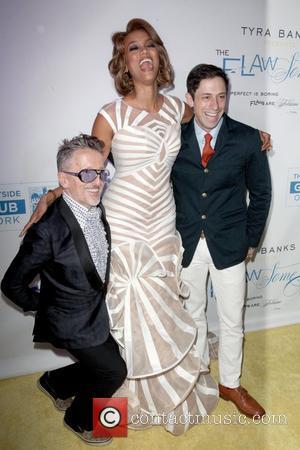 Simon Doonan, Tyra Banks, Jonathan Adler at The Flawsome Ball For The Tyra Banks TZONE at Capitale. New York City,...