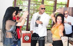 Flo Rida Flo Rida attends a press conference in Miami Beach, Florida to announce he will be joining Pitbull on...