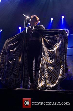 Florence and The Machine performing live at Motorpoint Arena Cardiff Cardiff, Wales - 05.03.12