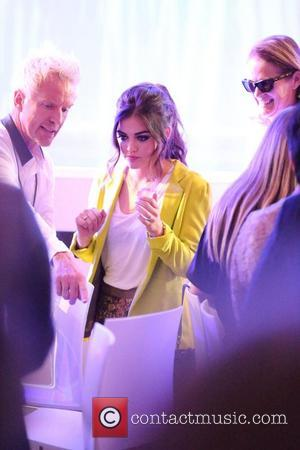 Lucy Hale Fashion's Night Out 2012 - Beverly Center Beverly Hills, California - 06.09.12