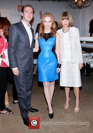 Jessica Chastain and Anna Wintour