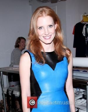 Jessica Chastain Fashion's Night Out 2012 – Jeffrey New York City, USA – 06.09.12