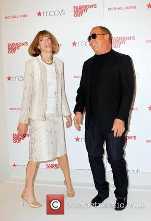 Michael Kors, Anna Wintour and Macy's