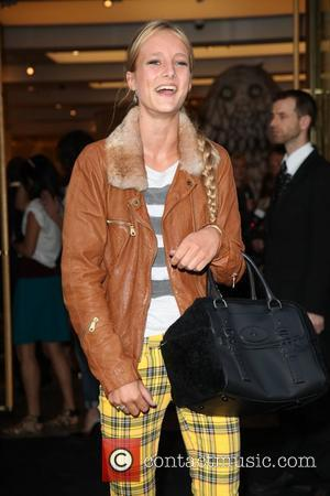 Olympia Campbell Fashion's Night Out 2012 - Mulberry London, England - 06.09.12