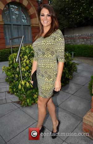 Football WAGs Natasha Giggs  seen leaving their hotel on their way to appear on 'Craig Doyle Live' Dublin, Ireland...
