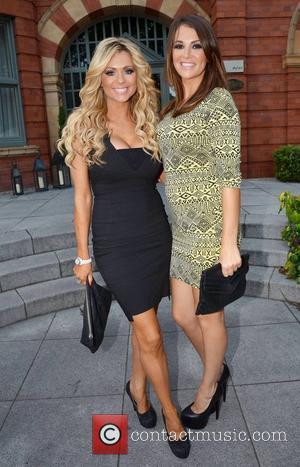 Nicola Mclean and Natasha Giggs