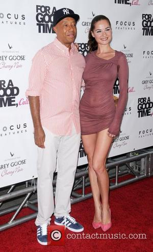 Russell Simmons and Guest For A Good Time, Call...' premiere at Regal Union Square  New York City, USA -...
