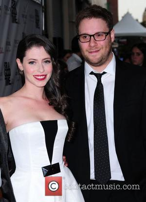 Lauren Miller and Seth Rogen 'For A Good Time, Call...' premiere at Regal Union Square  New York City, USA...