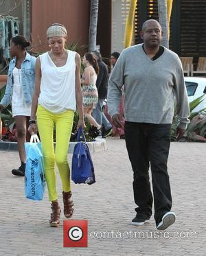 Forest Whitaker and wife Keisha Nash at Malibu Lumber Yard Shopping Centre Los Angeles, California - 05.05.12