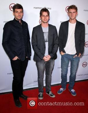 Foster The People AG presents Foster The People at Marquee nightclub inside the Cosmopolitan Resort and Casino Las Vegas, Nevada...