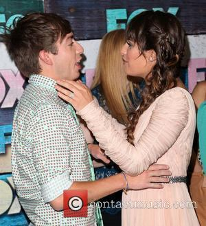 Kevin Mchale and Lea Michele