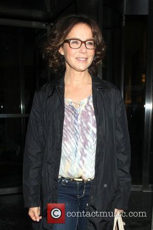 Jennifer Grey Celebrities arriving at Fox Friends in New York City New York City, USA - 22.05.12