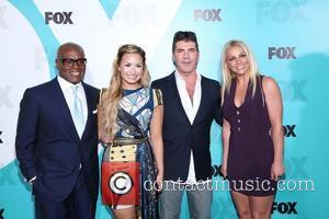 Simon Cowell, Britney Spears and Demi Lovato