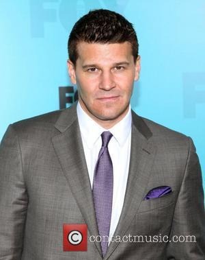 David Boreanaz  2012 Fox Upfront Presentation held at the Wollman Rink - Arrivals New York City, USA, 14.05.12
