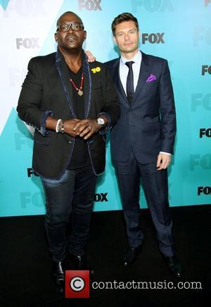 Randy Jackson, Ryan Seacrest  2012 Fox Upfront Presentation held at the Wollman Rink - Arrivals New York City, USA,...