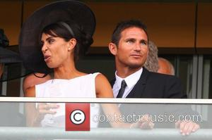 Christine Bleakley and Frank Lampard, Frank celebrates his 34th Birthday today  Royal Ascot at Ascot Racecourse - Day 2...