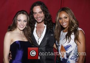Laura Osnes, Constantine Maroulis and Deborah Cox