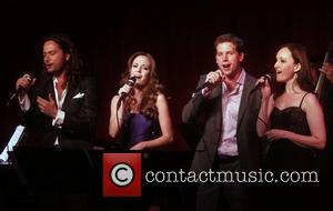 Constantine Maroulis, Laura Osnes and Stark Sands