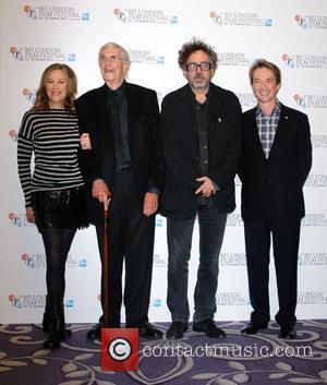 Catherine O'hara, Martin Landau, Tim Burton and Martin Short