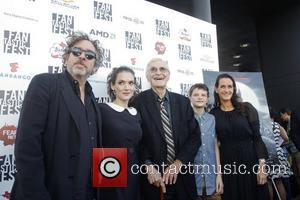 Tim Burton, Winona Ryder, Martin Landau, Cahrlie Tahan and Allison Abbate