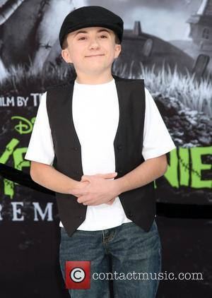 Atticus Shaffer Disney's 'Frankenweenie' premiere at the El Capitan Theatre - Arrivals Hollywood, California - 24.09.12