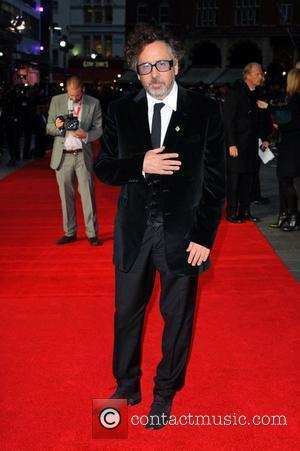Tim Burton 56th BFI London Film Festival- Frankenweenie premiere - Arrivals London, England - 10.10.12