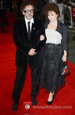 Tim Burton, Helena Bonham- Carter, Frankenweenie, Odeon, Leicester Square, London and England