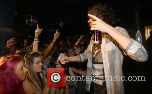 Frankie Cocozza Performing live at Club Revenge, in his home town of Brighton Brighton, England - 17.12.11