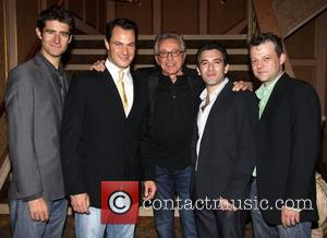 Drew Gehling, Matt Bogart, Frankie Valli, Jarrod Spector and Jeremy Kushnier Frankie Valli and the Four Seasons celebrate their 50th...