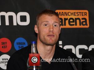 Freddie Flintoff, Boxing Press Conference