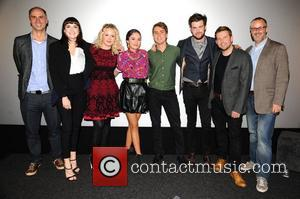 Charlotte Ritchie, Kimberley Nixon, Guest, Joe Thomas, Jack Whitehall and Greg Mchugh