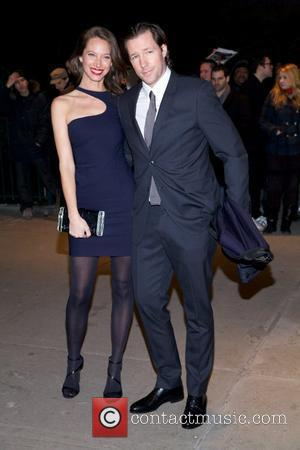 Edward Burns and Christy Turlington  The Cinema Society & People StyleWatch with Grey Goose host a screening of 'Friends...