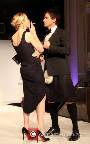 Kelly Rutherford and Matthew Settle  'From Scotland With Love' held at the Liberty Theater - Runway New York City,...