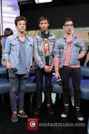 Nate Ruess, Andrew Dost, and Jack Antonoff  Indie pop band 'FUN' appearances on MuchMusic's NEW.MUSIC.LIVE. promoting their latest album...