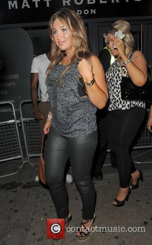 Lauren Goodger and Funky Buddha