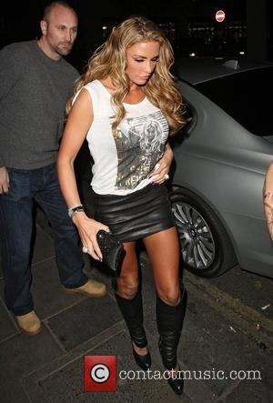 Katie Price arriving at Funky Buddha nightclub London, England - 08.02.12