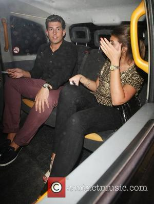 James Argent leaving Funky Buddha Club with a female friend London, England - 22.05.12