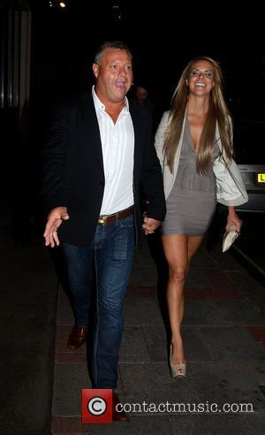 Mick Norcross  leaving Joey Essex's birthday party at Funky Buddha to head to the May Fair hotel London, England...
