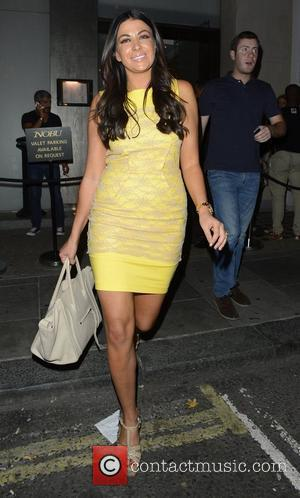 Cara Kilbey Celebrities enjoy a night out at Funky Buddha London, England - 10.08.12