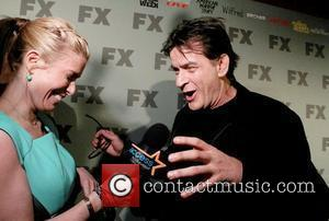 Charlie Sheen FX 2012 Ad Sales Upfront - Arrivals  New York City, USA - 30.03.12