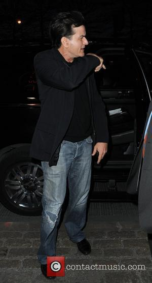 Charlie Sheen  FX 2012 Ad Sales Upfront - Outside Departures New York City, USA - 30.03.12